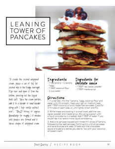 nikki-sharp-pancakes-banana-clean-eating-post-detox-guide