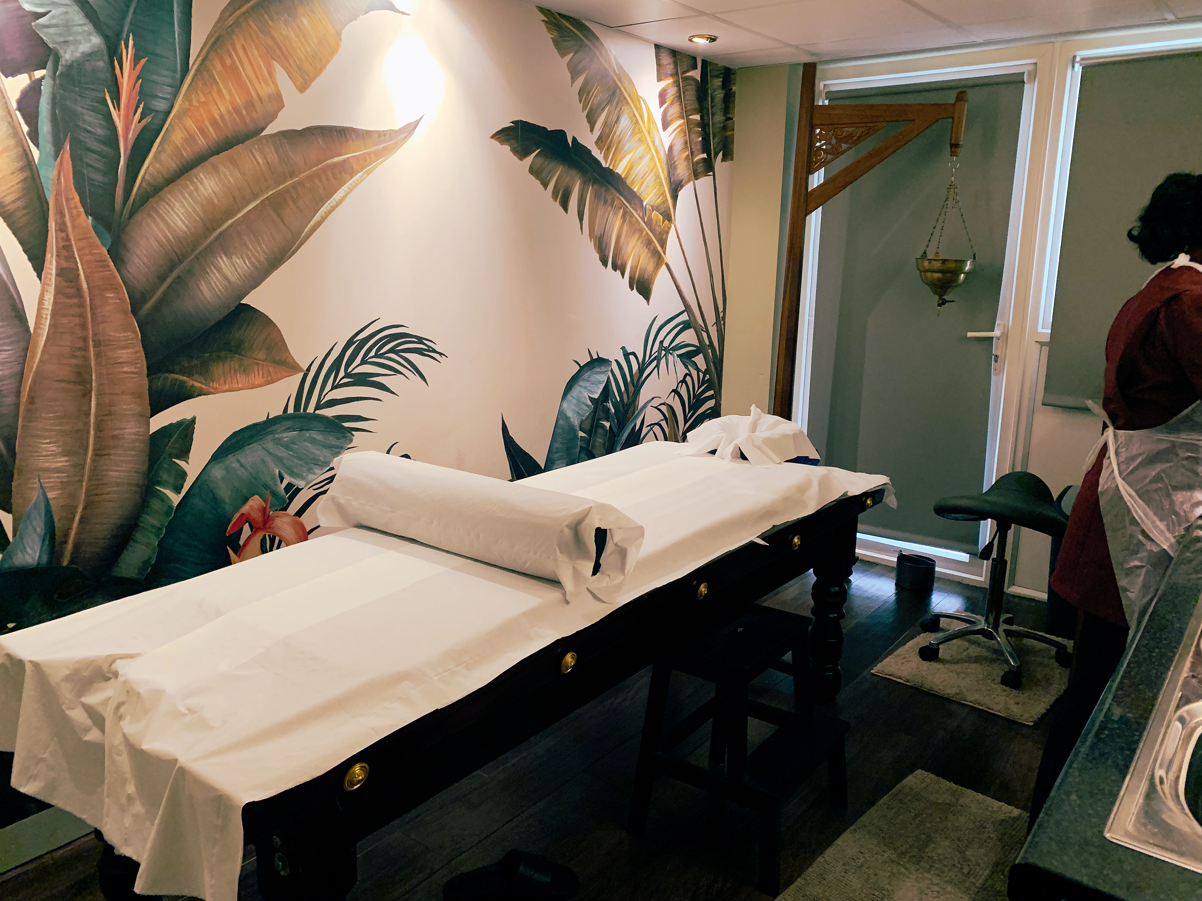 My-treatment-room-for-one-day-panchakarma